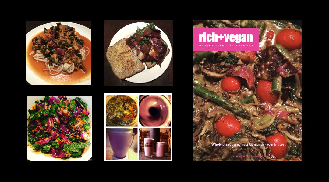 rich + vegan recipes | vegan cookbook